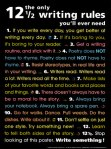 12 reasons to write